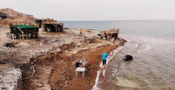 Jordanija: neturistinis vakarėlis su vietiniais ir kodėl gali nuvilti Negyvoji jūra