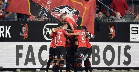 """Staigmena Prancūzijos čempionate – """"Rennes"""" tėškė antausį čempionams"""