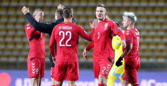 Lietuvos rinktinė – priešpaskutiniame pasaulio čempionato atrankos burtų krepšelyje