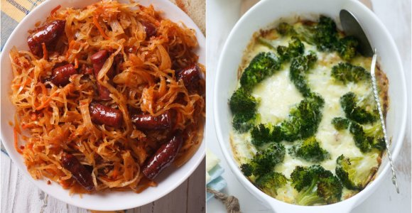 Savaitgalio valgiaraštis: skanūs, nesudėtingi patiekalai ir mėsos, ir daržovių mėgėjams