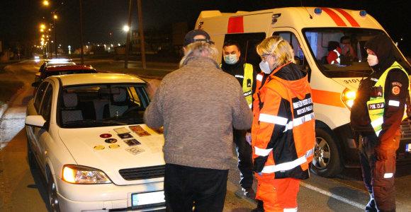 Aplinkoje nesiorientuojančiam vairuotojui Panevėžio policija kelionės tęsti nebeleido