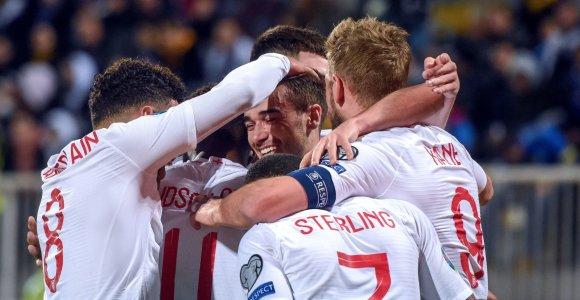Atrankoje į Europos čempionatą užtikrintas pergales iškovojo anglai ir prancūzai