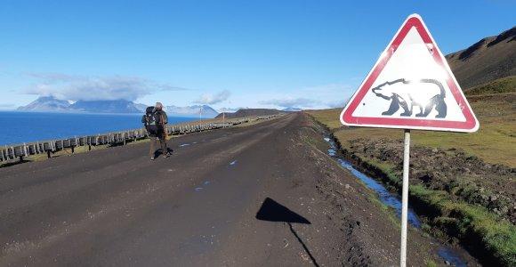 Dviejų lietuvių nuotykiai Svalbarde: 3 dienos ir 60 km per baltųjų meškų žemes