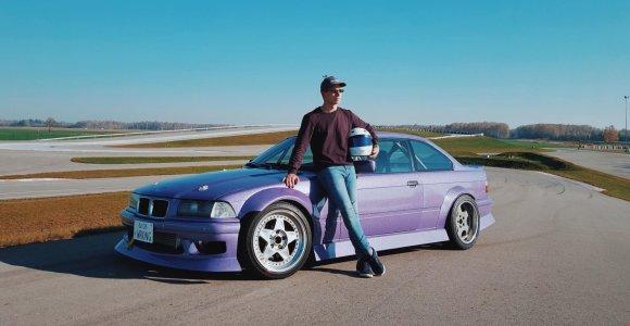 Debiutas: Norbertas Daunoravičius pademonstruos ilgai lauktą BMW