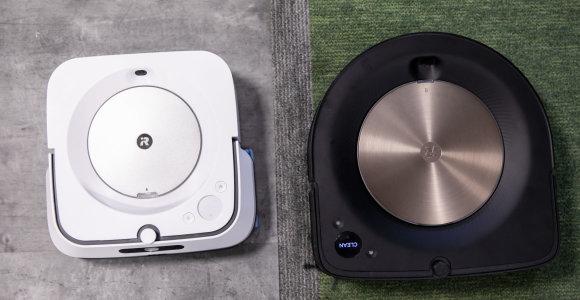 """""""iRobot"""" tandemas: kaip namus išvalo bene brangiausia robotų porelė?"""