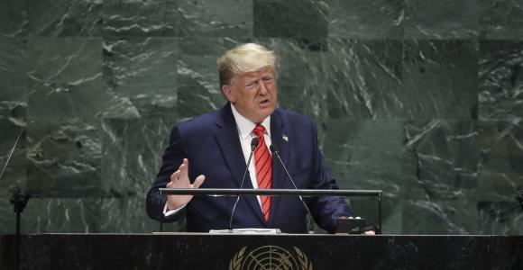 G.Nausėda sako pritariantis D.Trumpui, jog ateitis priklauso patriotams