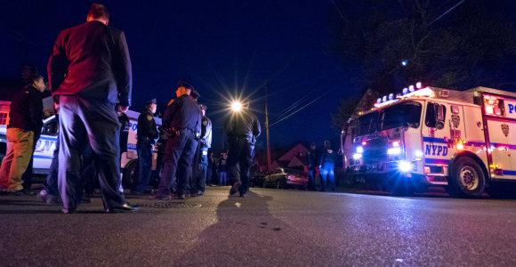 Niujorke per šaudymą klube žuvo mažiausiai 4 žmonės
