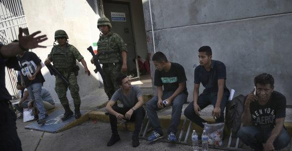 """Meksika migrantų centre areštavo įtariamą amerikietį """"islamistą"""""""