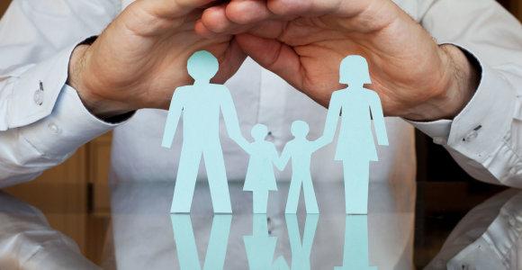 Svajonių šeimoje užuovėją randa ir svetimi vaikai