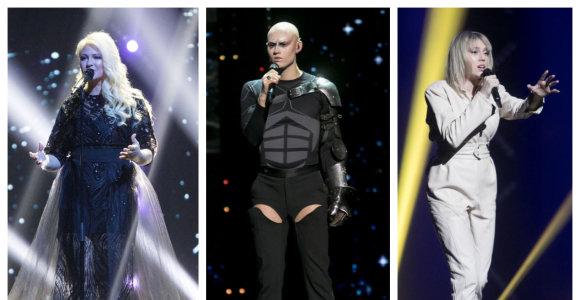 """Į """"Eurovizijos"""" atrankų pusfinalį iškeliavo Monique ir Alen Chicco: """"Twosome"""" humoras nesužavėjo"""