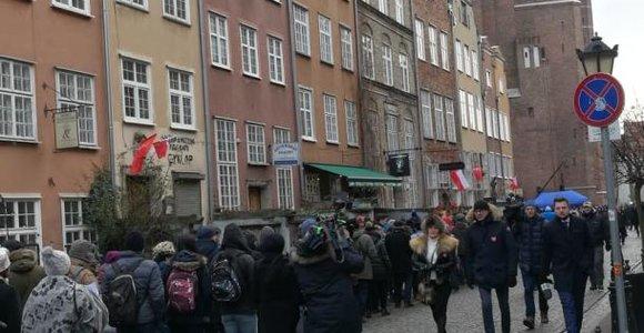 Gdanskas atsisveikina su ilgamečiu meru Pawelu Adamowicziumi