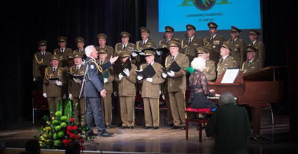 Lietuvos kariuomenės Vilniaus įgulos karininkų ramovės 25 metų jubiliejaus minėjimo vakaras