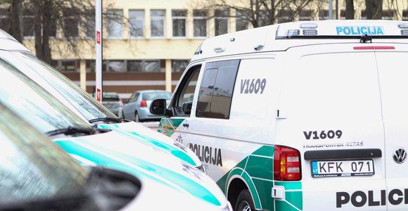 Alytaus policininkų avarija: pareigūnas blaivus, VW – beveik sveikas, stirna – negyva