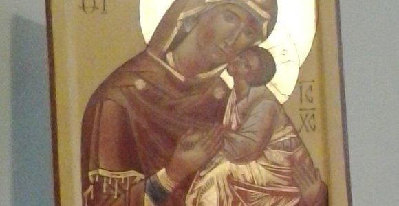 Iš Kauno senamiesčio bažnyčios pavogta ikona, išniekinta prakartėlė