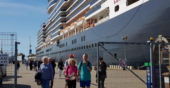 Laivų keleivių duomenys – vieno langelio sistemoje