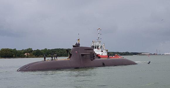 Klaipėda sulaukė įspūdingo svečio: po 18 metų vieši povandeninis karo laivas