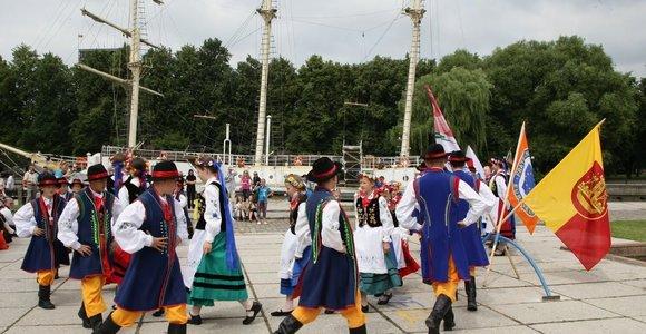 """Spalvingas Europos šalių tautinės kultūros festivalis """"Europeade"""" sugrįžta į Klaipėdą"""