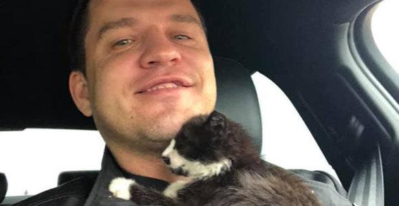 Kačiuką išgelbėjęs Tauragės klebonas jau rado jam globėją