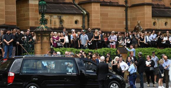Sidnėjuje atsisveikinama su AC/DC legenda Malcolmu Youngu