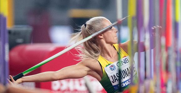 Liveta Jasiūnaitė nepateko į pasaulio čempionato finalą