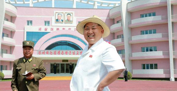 Šiaurės Korėja baigia statyti milžinišką pajūrio kompleksą