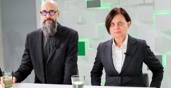 15min studijoje – H.Vasiliauskienė ir A.Davidavičius apie gyvenimą be smurto
