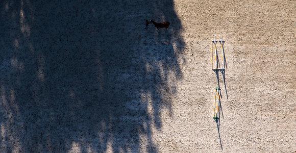 50 žalių atspalvių: Birštono apylinkės, užfiksuotos iš oro baliono