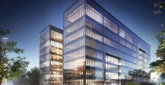 """""""Lords LB Asset Management"""" Lvovo gatvėje pradėjo statyti naują verslo centrą"""
