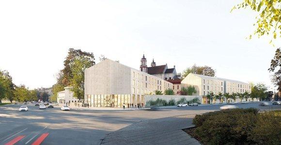 """Šv. Jokūbo ligoninės teritorijos architektūros konkursą laimėjo """"DO Architects"""""""