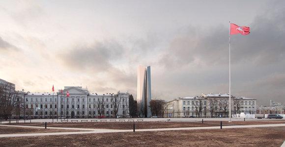 Architektas A.Ambrasas siūlo netikėtą Lukiškių aikštės memorialo idėją