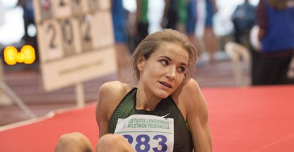 A.Palšytė – ambicinga: noriu gerinti rekordus ir kryptingai einu link tikslo