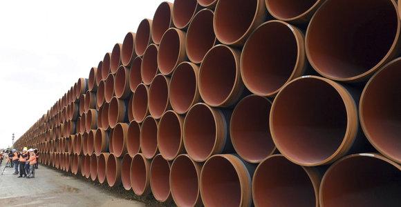 """Vokietijos URM: Berlyno ir Vašingtono pozicijos dėl """"Nord Stream 2"""" skiriasi"""
