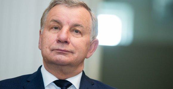 """""""MG Baltic"""" bylos nagrinėjime liudyti atvyko Rimantas Sinkevičius ir Egidijus Skrodenis"""