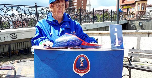 Seniausia futbolo čempionato savanorė nepraleido vienintelio gyvenime pasitaikiusio šanso