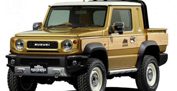 """""""Suzuki"""" paruošė staigmeną – du """"Jimny"""" koncepcinius modelius"""