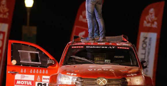 Dešimtasis Dakaras pareikalavo daugiau ištvermės nei tikėtasi