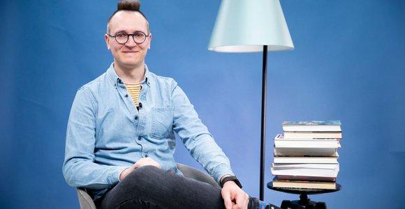 Rašytojas T.Dirgėla: apie kūrybą vaikams, įsimintinas knygas ir sudominimą skaitymu