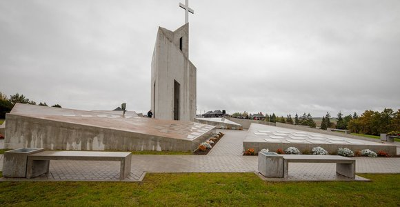 Kryžkalnio memorialo statybos pradžios ceremonija