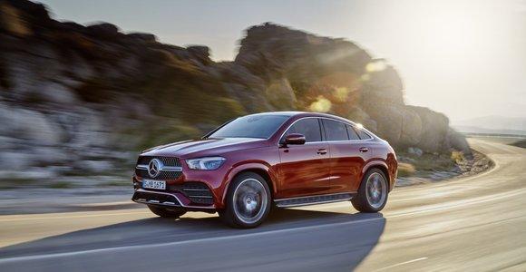 """Naujasis """"Mercedes-Benz GLE Coupé"""": trumpesnė ratų bazė ir laukiamas hibridinis variklis"""
