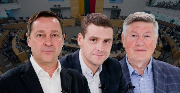 """Trys """"konservatyvūs liberalai"""": sutaria dėl homoseksualų partnerystės, bet ne dėl mirties bausmės"""