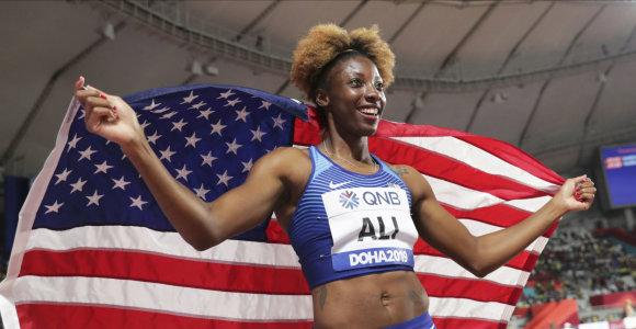 Dohos medaliai – rekordą pasiekę amerikiečiai triumfavo, aukštai finišavo ir estai