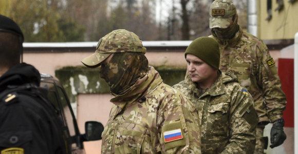 JT tribunolas: Rusija privalo grąžinti į Ukrainą pagrobtus jūreivius