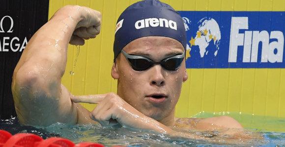 Pasaulio taurės finiše – nepralenkiamas Danas Rapšys ir dar vienas aukso medalis