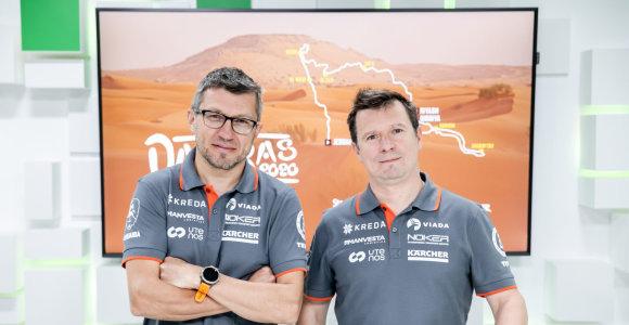 Antanas Juknevičius ir Darius Vaičiulis: ar Dakare jie buvo susipykę?