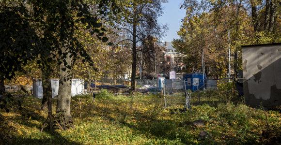 Darbų pabaiga Reformatų sode atidėta, bet gyventojai apie tai neinformuoti