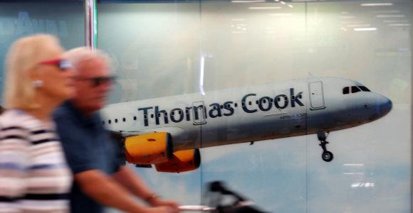 """""""Thomas Cook"""" kyla iš pelenų"""