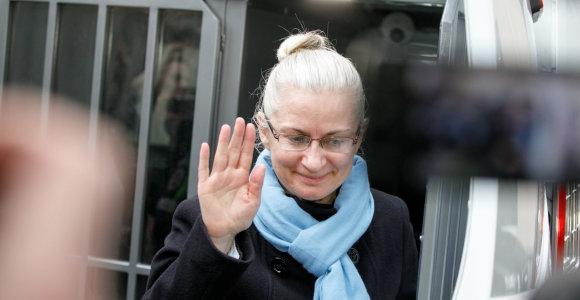 Netikėtas Vilniaus apygardos teismo sprendimas: N.Venckienė paleidžiama į laisvę
