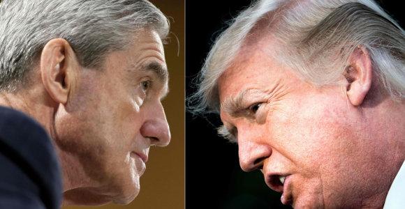 JAV specialusis prokuroras ginčija sensacingą straipsnį apie D.Trumpo advokato liudijimą