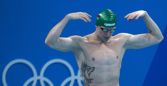 Garbingas pasaulio čempionato finišas – su dviem Lietuvos rekordais