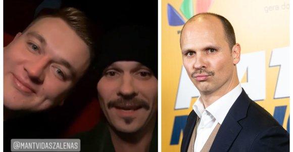 """Audrius Bružas atėjęs į filmą """"Pats sau milijonierius"""" sutiko Paulių Aršauską"""